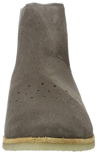cashott A17031, Zapatillas de Estar por Casa para Mujer Grau (Cipro Dark Taupe 541)