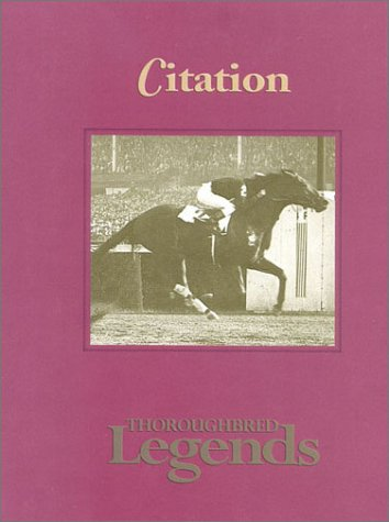 Citation: Thoroughbred Legends