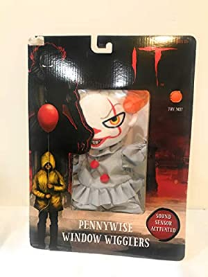 Magic Power Company Animated Plush Halloween Animated Window Cling Pennywise The Clown From It Buy Online At Best Price In Uae Amazon Ae