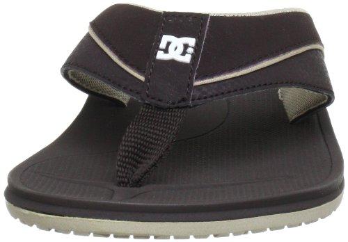 DC Shoes PERU D0303088 - Chanclas para hombre Marrón (Braun (DK CHOC/TAN))