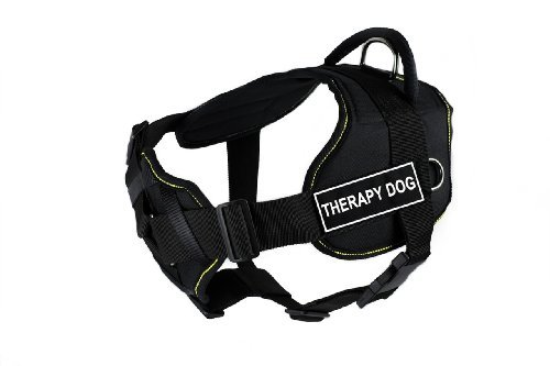 dean-tyler-dt-fun-ch-trpyd-yt-l-fun-dog-harness-with-padded-chest-piece-therapy-dog-large-fits-girth
