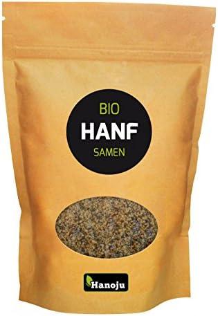 Hanoju Bio Hanf Samen geschält im Paperbag (500g)