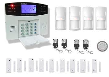 alarme maison sans fil telephone