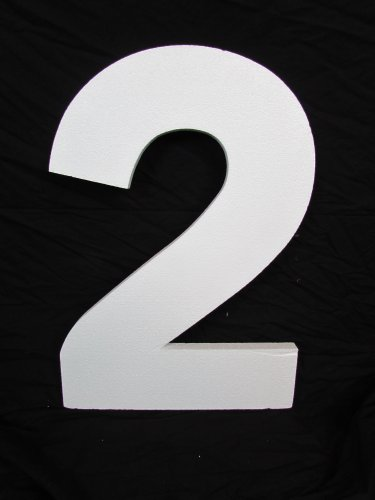 Large Foam Numbers - 24