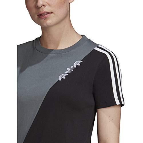 adidas Originals Women's Adicolor Sliced Regular Tee 3