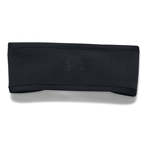 Under Armour Women's ColdGear Infrared Fleece Headband, Black (001)/Black, One Size (Headband Womens Fleece)