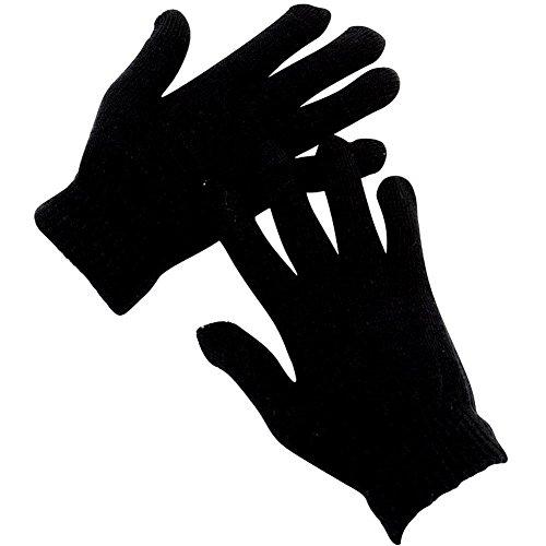 Magic Childrens Gloves (Kids Magic Gloves Teens Winter Gloves for Children 8-16 Yeas Old (Black))