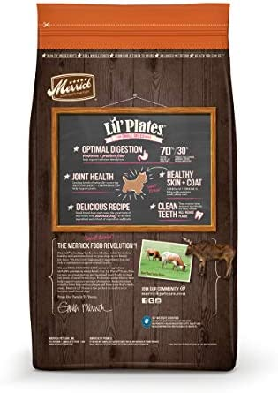 Merrick Lil Plates Grain Free Real Texas Beef Sweet Potato Small Breed Dry Dog Food