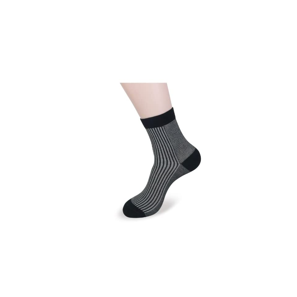 Landisun Various Patterms 3 Pairs 3 Colors Ankle Bamboo Socks SN321