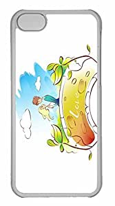 iPhone 5C Case, Personalized Custom Valentines Day 8 for iPhone 5C PC Clear Case