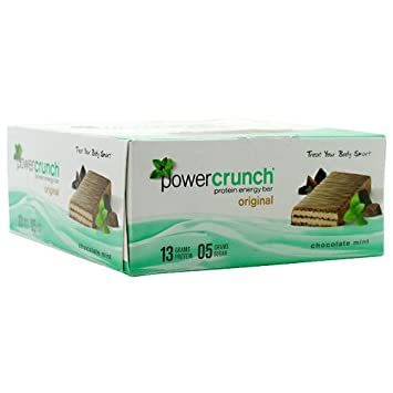 BIONUTRITIONAL RESEARCH GROUP, Bnrg Power Crunch Chocolate Mint 12