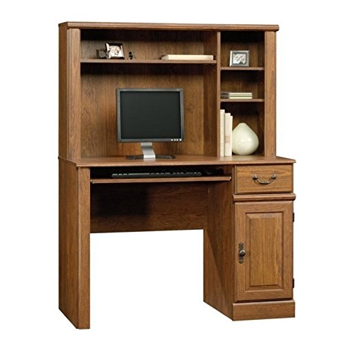 Sauder Orchard Hills Desk with Hutch, Milled Cherry finish (Desk Hutch For)