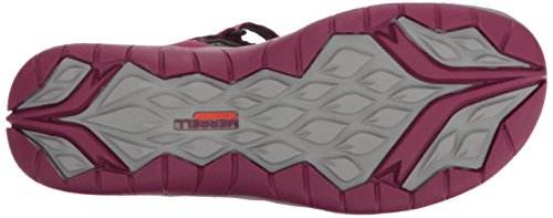 Q2 Sneakers Beet Siren Women's Red WRAP Merrell aFPq1