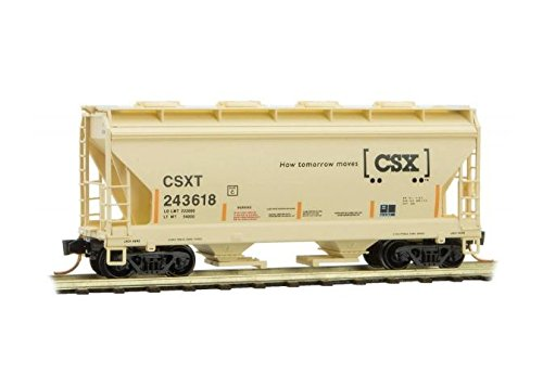 - Micro Trains CSX 2-BAY CENTER-FLOW HOPPER