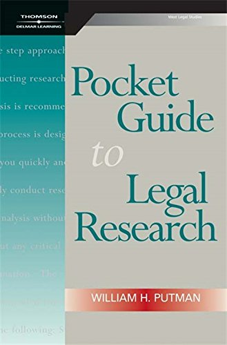 Pocket Guide to Legal Research, Spiral bound Version