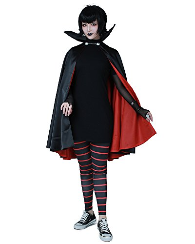 Cosplay.fm Women's Mavis Dracula Halloween Costume with Cape (XL) ()