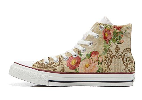 Converse All Star Customized - zapatos personalizados (Producto Artesano) Floral Vintage