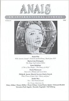Anais An International Journal: Vol. 6, 1988
