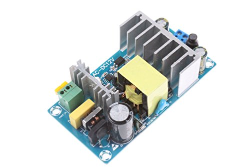 NOYITO AC-DC 12V 8A Power Supply Module AC 110V (85-265V) to 12V 100W Max Power Module with Overcurrent Overload Short-Circuit Protection Suitable for Civil or Industrial Control Systems(12V 8A)