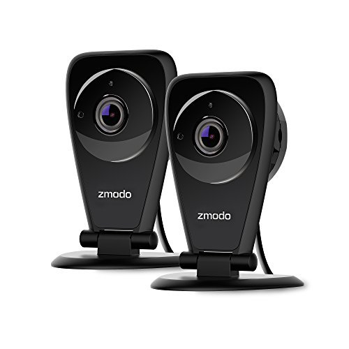 meShare Cloud Cam 1080p - Baby Monitor WiFi Pet Camera Security Camera System Wireless with Night Vision, Smart Motion Alerts and Cloud Recording for Home Indoor/Outdoor (2 Pack)