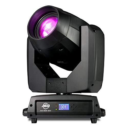 ADJ Products Vizi BSW300 Hybrid beam/spot/wash fixture that is powered by a specially designed 300W LED Engine