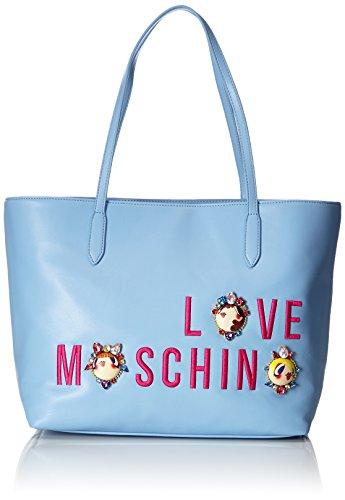 Love Moschino Borse Tote Donna Blu (Avio)