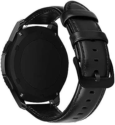 MroTech Correa de Reloj 22mm Band Compatible para Samsung Gear S3 Frontier/Classic/Galaxy 46mm Pulsera de Repuesto para Huawei Watch GT 2 /GT ...