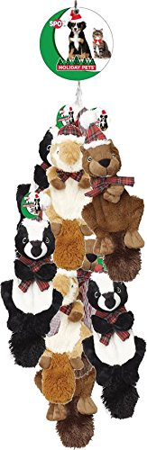 ETHICAL CHRISTMAS 5583RP 688992 Holiday Crinklers Forest Animals Out-Season 0801 Assorted Toy