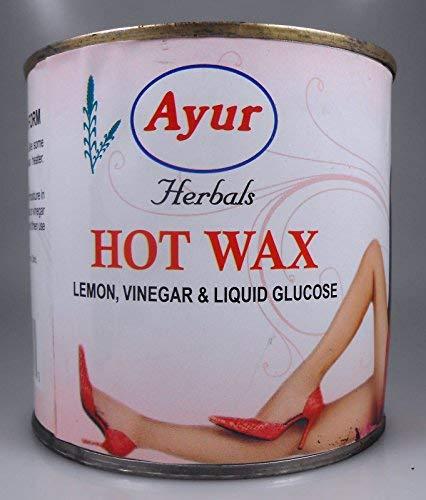Ayur Hot Wax 600 g X 1 Can by Ayur