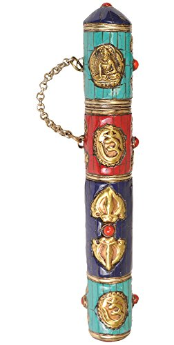 Incense-Holder-Brass-with-Inlay