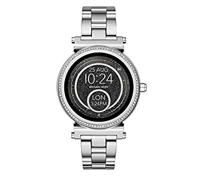 Michael Kors Access Sofie Silvertone Touchscreen Smart Watch from Michael Kors