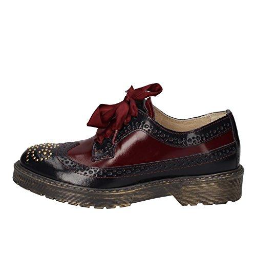 cordones bordeaux de CLUB BEVERLY POLO Zapatos mujer para HILLS viola TwXwgq7