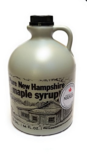 Granite State Maples 64Fl Oz.(1/2 Gallon) Pure New Hampshire Maple Syrup, Grade A by Granite State Maples (Image #1)