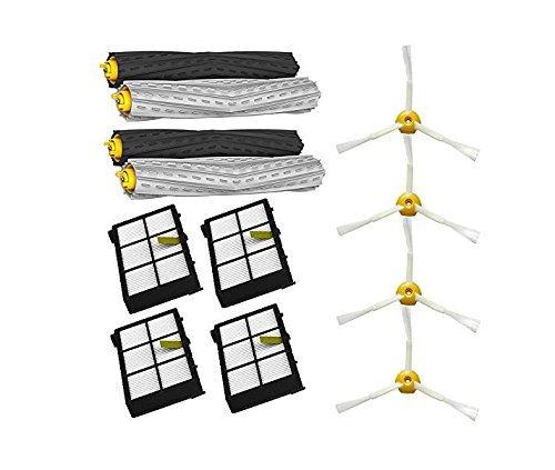 kaiwoo® Tangle-Free AeroForce extractor Set y cepillos laterales y ...