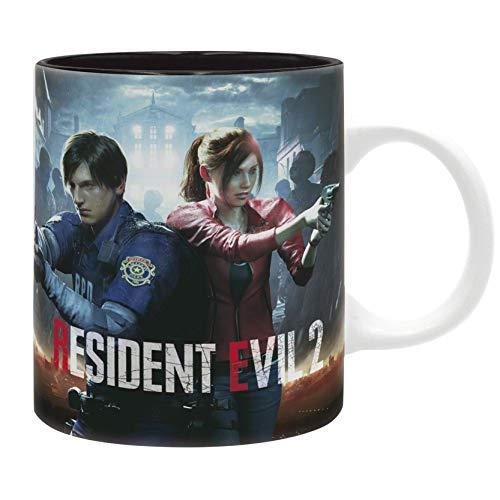 ABYstyle Resident Evil Gift Idea, Breakfast, Writing, Pen Holder, Office, Mug, Mugs, Collectible, Comics, Manga, TV Series, Multicoloured, ABYMUG582