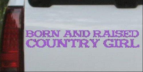 2019特集 Born Born and 4.2in Raised B0068WW3SQ Country Girl国車ウィンドウ壁ノートパソコンデカールステッカーすべてのサイズ 26in X 4.2in 26inX4.2in_Purple_11298_22 26in X 4.2in B0068WW3SQ, BM WORKS JAPAN:1d2a6cb6 --- a0267596.xsph.ru