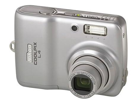 amazon com nikon coolpix l4 4mp digital camera with 3x optical rh amazon com