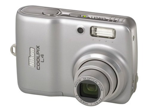 amazon com nikon coolpix l4 4mp digital camera with 3x optical rh amazon com Nikon Coolpix P500 User Manual Nikon Coolpix Digital Camera Manual