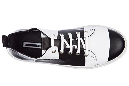 Mcq Alexander Mcqueen Uomo Scarpe Uomo Pelle Scarpe Sneakers Chris Lace Up Sc