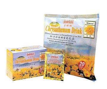 Gold Kili Instant Honey Chrysanthemum Drink 0.63oz/18g X20 Sachets
