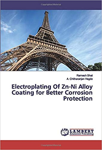 Electroplating Of Zn-Ni Alloy Coating for Better Corrosion