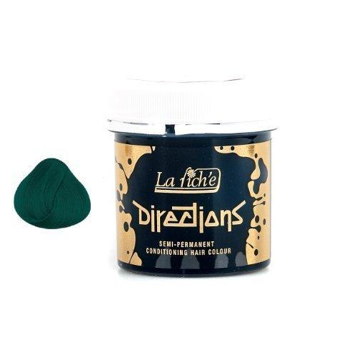 La Riche Directions Semi-Permanent Hair Colour 88ml x 2 tubs Alpine Green by La Riche (Alpine La Riche Directions)