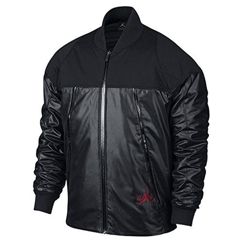 Nike Men's Air Jordan XI Pinnacle Jacket Black 777495-010 (SIZE: L) by Jordan