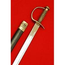 Jack Sparrow Steel Caribbean Pirates Cutlass Sword Sabre w/Scabbard