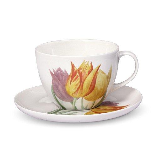 Royal Botanic Gardens Kew, Tulips Tea Cup And Saucer Set