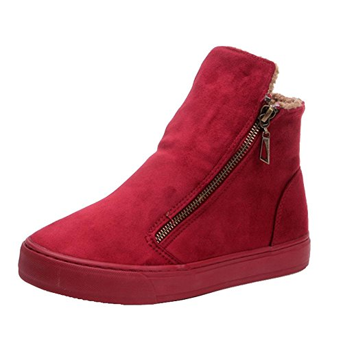 Getmorebeauty GetmorebeautyUpdate - Botas de nieve mujer Red
