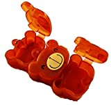 Choco Teddy Small Nutrition Pill Box