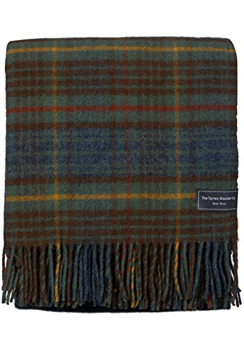 The Tartan Blanket Co. New Wool Knee Blanket (29