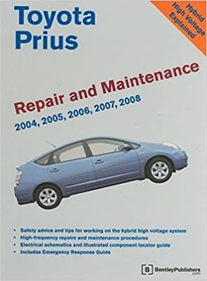 Toyota Prius Repair And Maintenance Manual [TOYOTA PRIUS REPAIR U0026 MA 0]:  Amazon.com: Books