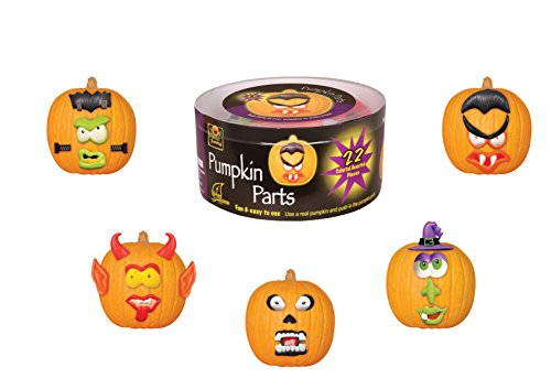 Pumpkin Parts (Halloween Pumpkin Decorating Kits)